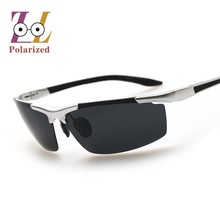 Hot selling fashion sunglasses Polarized Mirror men  Original Black Popular Driving Sun Glasses Male fishing goggles