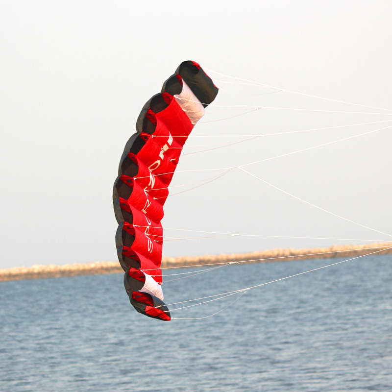 HENGDA KITE Dual Line Parafoil Bar Power Kitesurf Sports