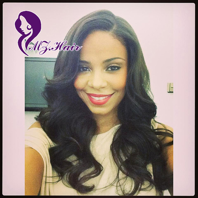 Wholesale Cheap Affordable Full Lace Human Hair Wigs For Black Women Medium  Length Body Wave Brazilian Lace Front Wigs Perruque 2cd989528