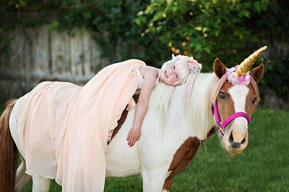 realistic unicorn horns for horses