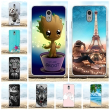 For Lenovo Vibe P1m Cover Ultra-slim Soft TPU Silicone P1M Case Scenery Patterned Coque Bag
