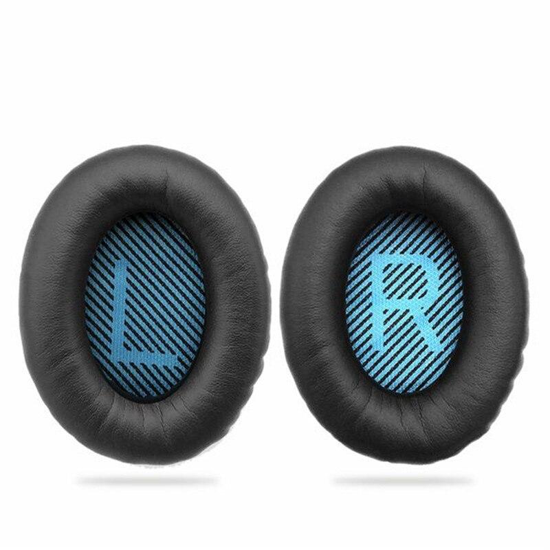 Coussinets de rechange Ear Pad Mousse Oreille Pad Mémoire De Rechange En Mousse Oreille Coussin Pour BOSE QuietComfort15 QC2 QC15 QC25 QC35 AE2, UN