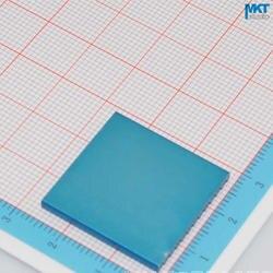 100 Шт. 25 мм х 2.5 мм х 25 мм Чистый Алюминий Охлаждения Fin Радиатора Теплоотвод