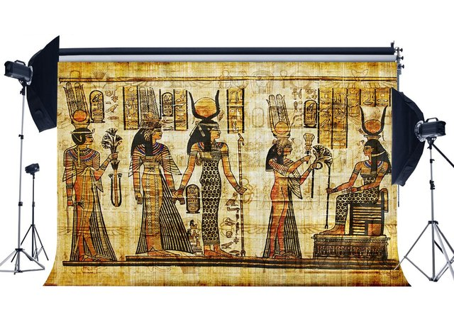 초라한 이집트 배경 오래된 이집트 벽화 배경 고대 파라오와 상형 문자 배경