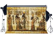 Telón de fondo antiguo Egipto pintura Mural antiguo Faraón antiguo y jeroglíficos fondo