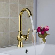 Ваза Золотой поворотный спрей Кухонные смесители torneira 9829 К умывальник водопроводной воды судно Туалет смесители, смеситель