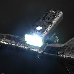 Image 2 - Gaciron תחרות רמת אופניים אור 800 לום כידון פנס 5 מצבים חוט מתג 2500mAh IPX6 עמיד למים אופניים מול אור