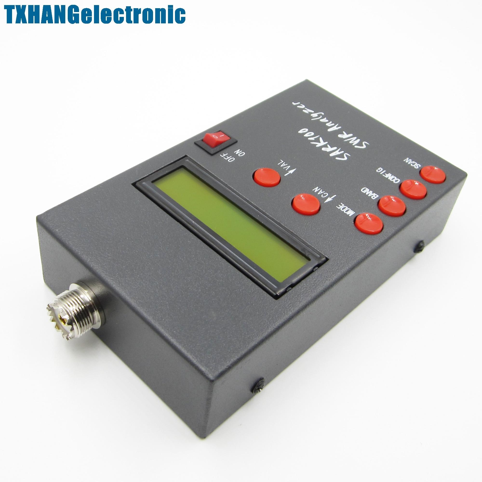SARK100 ANT SWR Antenna Analyzer Meter For FPV Ham Radio Hobbists 1 60M