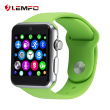 LEMFO LF07 Smart Watch Phone Support SIm card Bluetooth Wrist Smartwatch Fitness Tracker APK For Apple IOS Android Smartphons