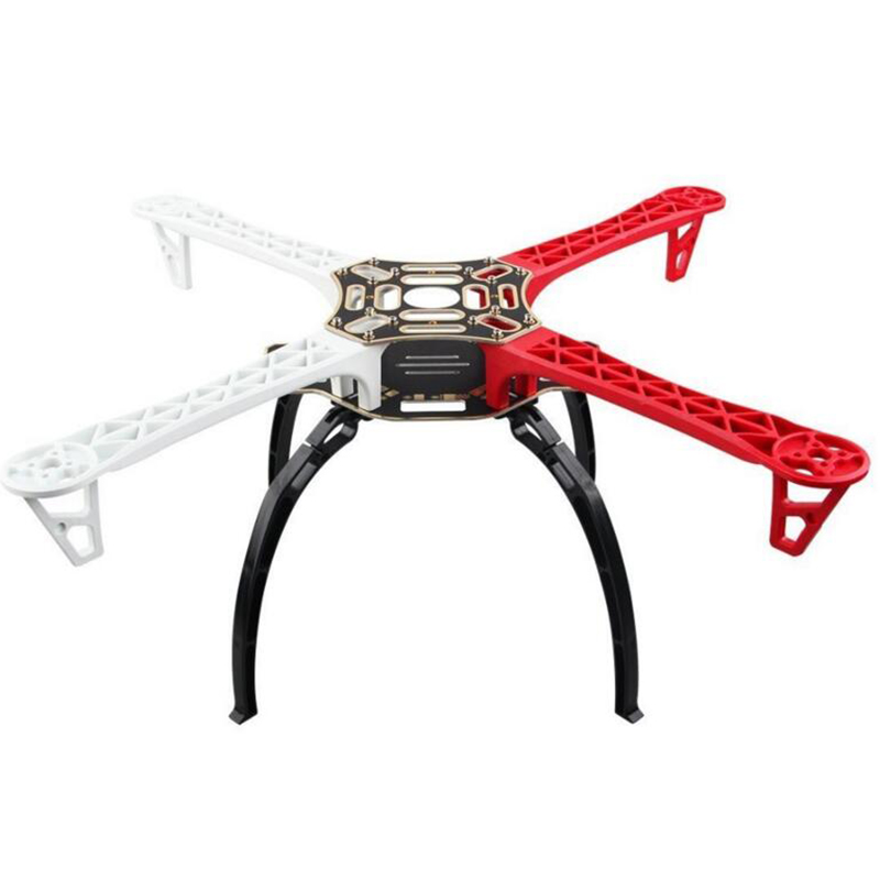 F450 Quadcopter Frame Kit Quadrocopter Kit F450 PCB Arm W/ black Landing Gear Skid for F450 F550 SK480 FPV MultiCopter KK MK MWC free shipping 4pcs universal tall landing gear skids gear skid height 150mm for dji f450 f550 sk480 fpv aerial photo