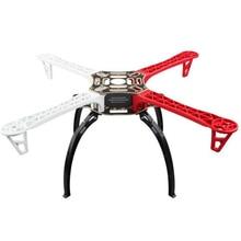 F450 drone iskeleti Kiti Quadrocopter Kiti F450 PCB Kolu W/siyah İniş takımları Skid için F450 F550 SK480 FPV MultiCopter KK MK MWC