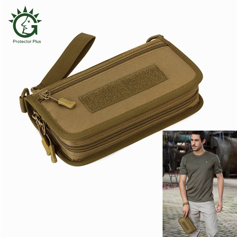 Protector Plus 10L Tactical Camouflage Mobile Phone Pouch Wallet Handbag for 6-Inch Mobile Phone Waterproof Tactical Wallet BagProtector Plus 10L Tactical Camouflage Mobile Phone Pouch Wallet Handbag for 6-Inch Mobile Phone Waterproof Tactical Wallet Bag