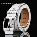 IFENDEI Luxury Fashion Belts 2016 New Women&Men Vintage Strap Male&Female Leather Alloy Pin Buckle Belt Universal Casual Belts