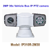 2MP 30x Optical Zoom Infrared 100M HD IP Vehicle Roof Top PTZ Camera for Military Car/ Policeman Car/ Boat/ Ship