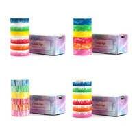 Série de crayons Washi ensemble de ruban de Scrapbooking coloré ensemble de ruban de masquage bricolage 5 mètres de Long