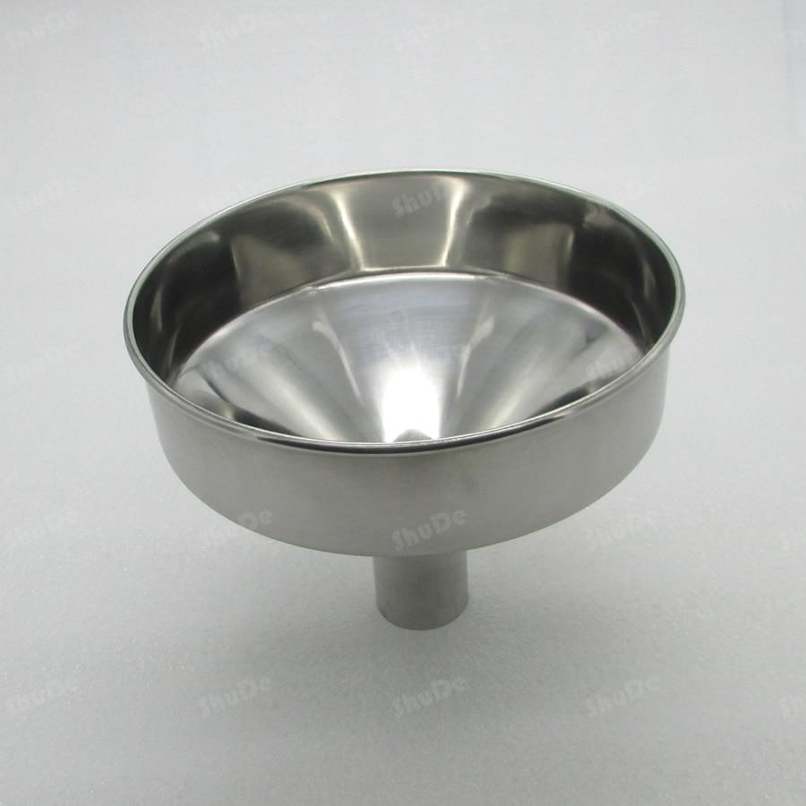 hopper funnel diameter 19cm 20cm 24cm steel funnel Large stainless steel