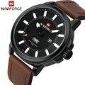 Luxury brand naviforce militares hombres relojes deportivos hombres reloj de cuarzo hombre fluorescente noche visión reloj relogio masculino