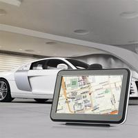 NOYOKERE Auto GPS Navigatie 4.3 inch Touchscreen Metalen + Premium Plastic Voertuig GPS Navigator 4 GB met Gratis Amerika kaart tk103b