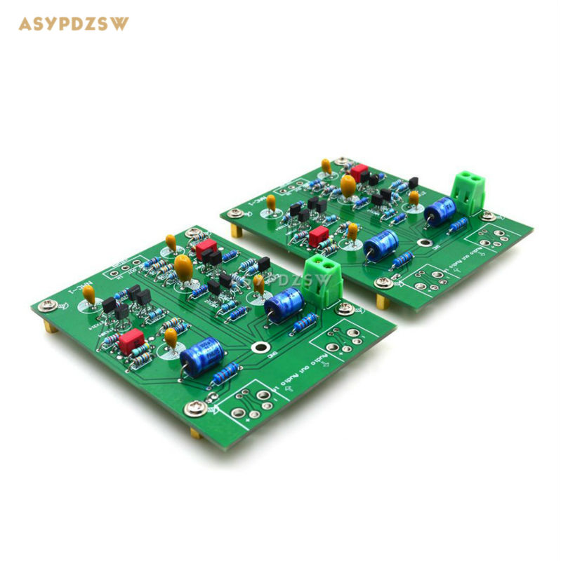 2PCS channel NAC-1 Single-ended class A Preamp finished board base on Naim NAC42 Preamplifier circuit цены