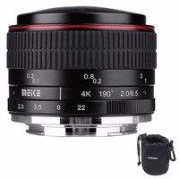 MEIKE MK-6.5mm F2.0 Obiektyw Typu Rybie Oko Stałej Ogniskowej Obiektyw Ef-m górze Lense Duża Przysłony Automatycznej Regulacji Ostrości Obiektywu Do Canon DSLR Camera