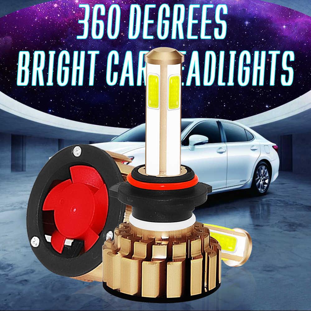2X G7 LED Headlight Bulbs Automobiles 9005 9006 IP68 Waterproof H4 H7 H11 8000LM 6000K Brighness Lamp