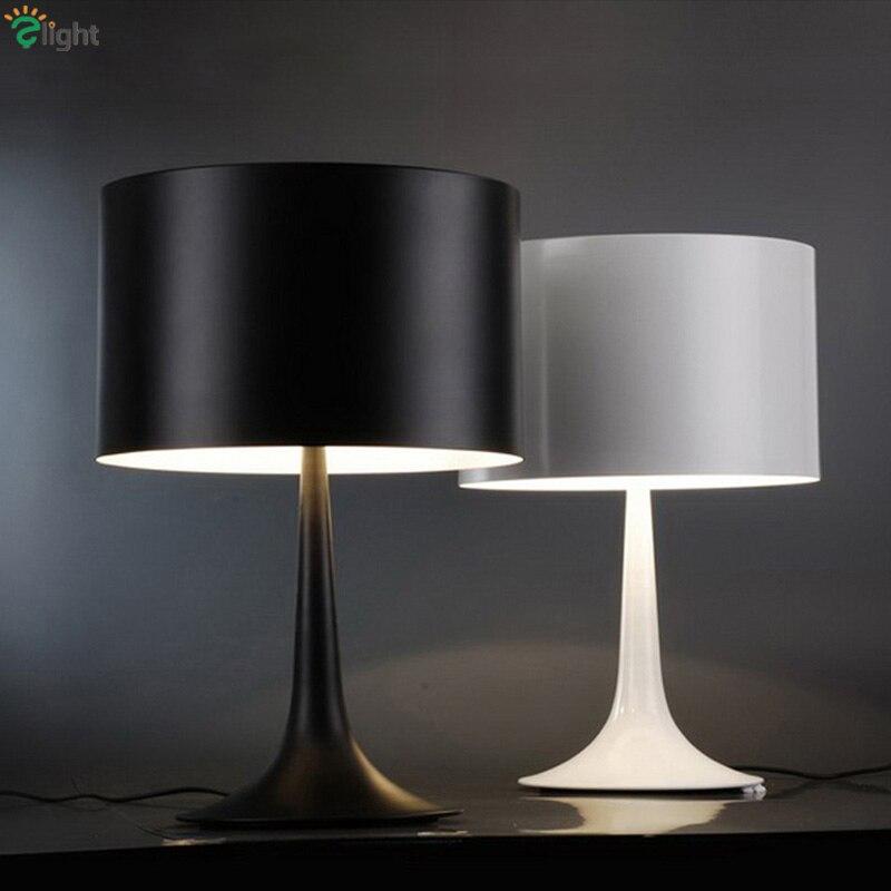 Nordic Minimalism Italy Design Black White Gentle Desk