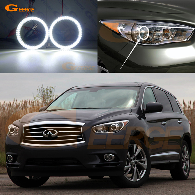 For Infiniti Jx35 Qx60 2017 Smd Led Angel Eyes Kit Day Light Excellent Ultra Bright Illumination Drl