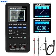 Hantek 3in1 ملتقط الذبذبات الرقمي + مولد الموجي + متعدد المحمولة USB 2 قنوات 40 ميجا هرتز 70 ميجا هرتز شاشة الكريستال السائل اختبار متر أدوات