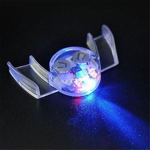Image 3 - 2017 Flashing LED Light Up Mouth Braces Piece Glow Teeth Halloween Party Glow Tooth Light Up Mouthpiece Rave
