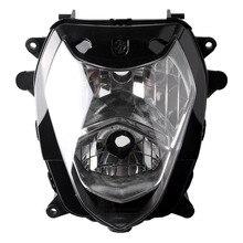 Motorcycle Front Headlight Lighting for Suzuki GSXR 1000 K3 2003 2004 / GSXR1000 03 04, Aftermarket Replacement