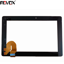 RLGVQDX Brand New 10.1'' Touch Screen For ASUS TF300 69.10I21.G03 Black Digitizer Glass Sensor Tablet Pc Panel