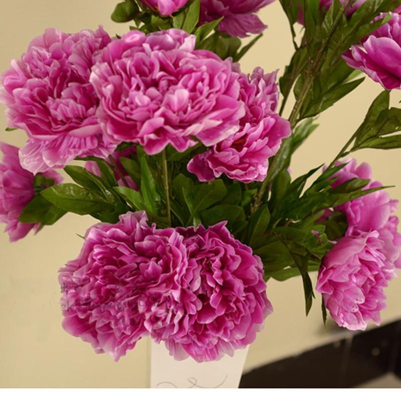 114cm artificial peonies silk flowers 5 peony flower heads bouquet 114cm artificial peonies silk flowers 5 peony flower heads bouquet artificial peony silk flowers decorative boda wreaths flowers mightylinksfo