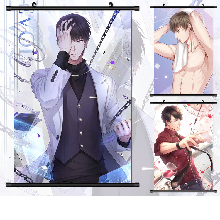 NewAnime Kuroshitsuji Black Butler Grell Sutcliff wall Poster Scroll 40*60cm