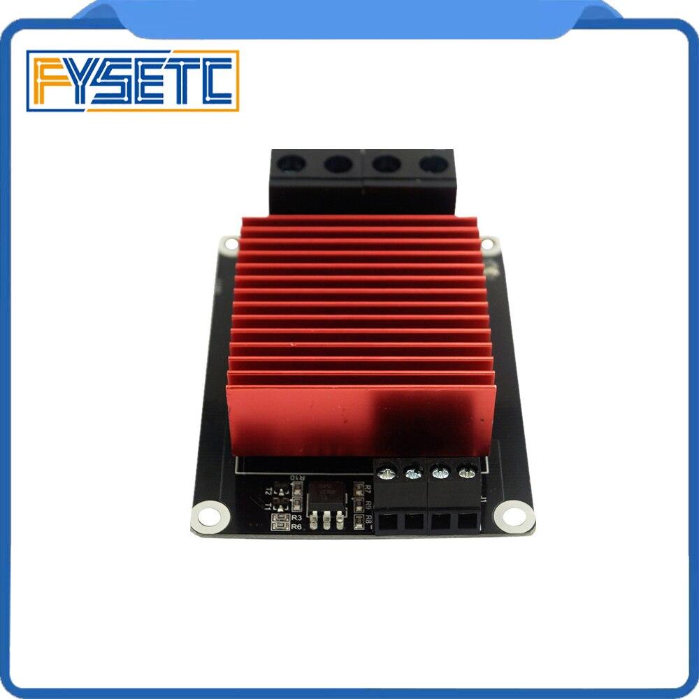 1 unid 3D piezas de la impresora controlador MKS MOSFET para la cama del calor/extrusora MOS módulo supere 30A soporte grande corriente para TEVO