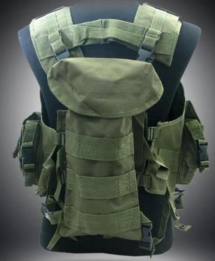 Tactical US Modular Load Assault Swat Us Navy Seal Tactical Vest ACU-US137