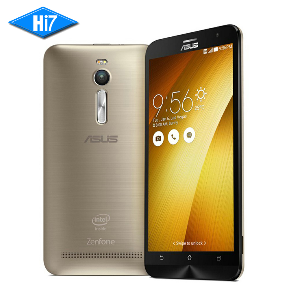 New Unlocked ASUS Zenfone 2 Ze551ML 2GB RAM 32GB ROM 2.3GHz Android 5.5inch 13MP Camera Quad Core LTE 4G Dual Sim Mobile Phone