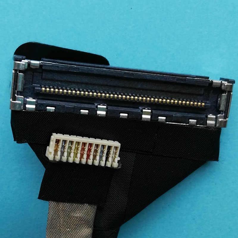 Оригинальный ЖК-дисплей кабель для Dell Latitude E7270 ноутбука ЖК-дисплей кабель LVDS AAZ50 EDP TS кабель DC02C00AX00 DC02C00AX10 2K2J9 02K2J9
