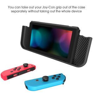 Image 4 - Smatree קשיח מגן מקרה עבור Nintend מתג נוחות כף יד חזרה כיסוי עבור Nintendo מתג קונסולת NS שחור/ אדום/כחול