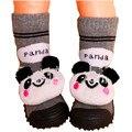 Crianças Sapatos Da Criança Meias Com Sino Meias Bebê Recém-nascido de Algodão Anti Deslizamento Meias Bebê Com Solas De Borracha Ws922