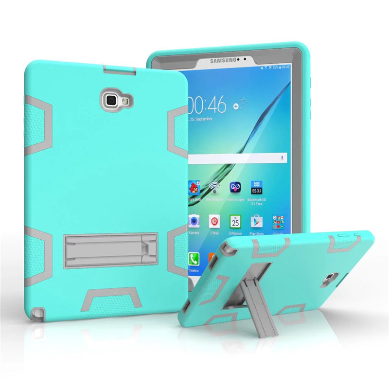 For Samsung Galaxy Tab A 10.1 A6 P580 P585 Luxury Stand Folio Flip PU Leather Skin Magnetic Smart Sleep Cover Case