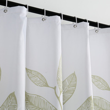 Elegant Plants Printed Shower Curtains