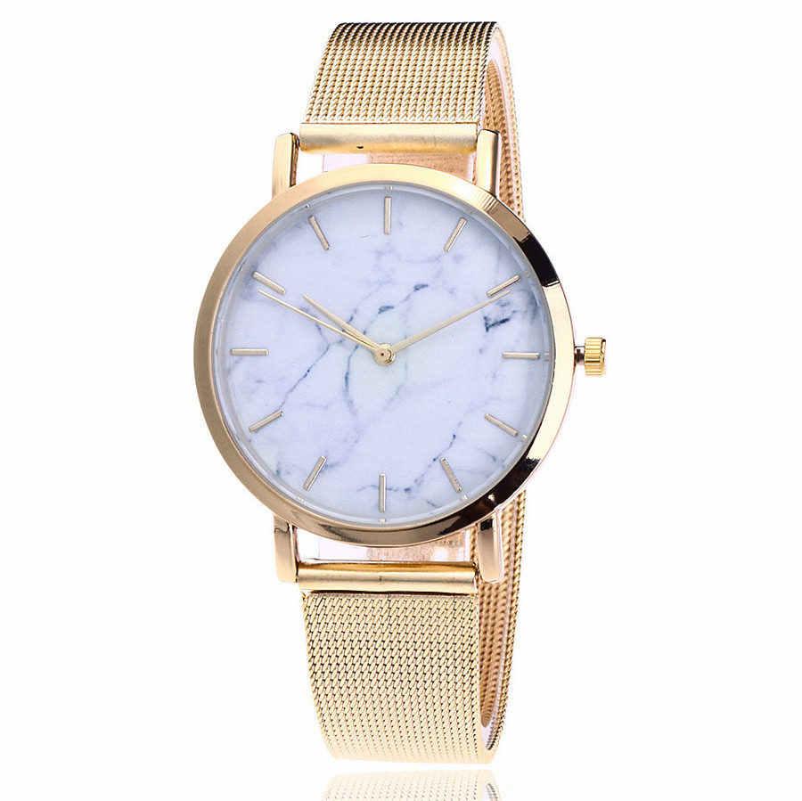 BAJEETA Marble Style Leather Quartz Women Watch Top Brand Men Watches Fashion Casual Sport Wrist Watch Hot Sale Lovers Relojes