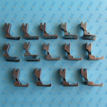14 PIECE INDUSTRIAL SINGLE NEEDLE RAISING FOOT SET #KP-SNRF14