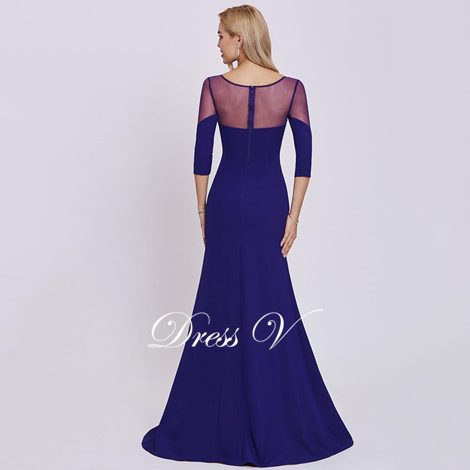 320266d1c5576a Dressv elegante lange mouwen avondjurk geschulpte rand hals trompet kant  wedding party formele jurk avondjurken aanpassenUSD 126.49 piece