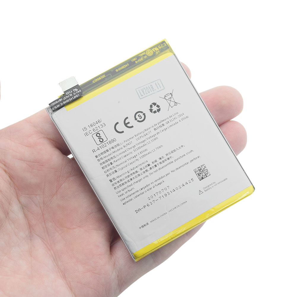 for <font><b>Oneplus</b></font> <font><b>5</b></font> Battery High Quality 3300mAh BLP637 Replacement for <font><b>Oneplus</b></font> 5T <font><b>Smartphone</b></font> <font><b>OnePlus</b></font> <font><b>5</b></font> One Plus <font><b>5</b></font> five Lipo Bateria image