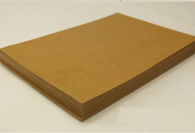 Alice,High quality A4 Brown Kraft Paper Paperboard Cardboard Card Blank 200gsm 250gsm 300gsm 350gsm Wholesale!