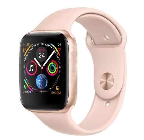 IWO 8 プラス 44 ミリメートル腕時計 4 心拍数スマート時計ケースのための apple iphone android 携帯 IWO 5 6 9 ないアップグレード apple watch