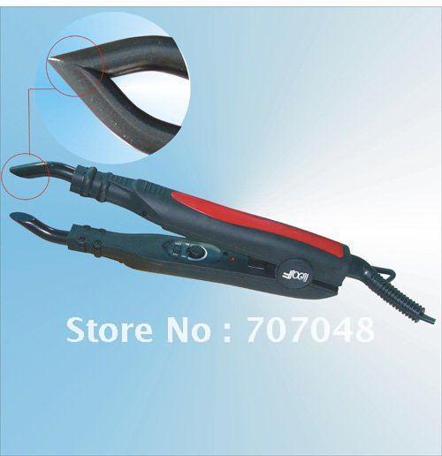 FLAT PLATE Fusion Hair Extension Keratin Bonding Tool Heat Iron