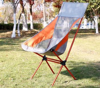 Folding Portable Beach Chairs Outdoor Camping Chair Oxford Cloth Aluminum Alloy BBQ Garden Chair Fishing Chair