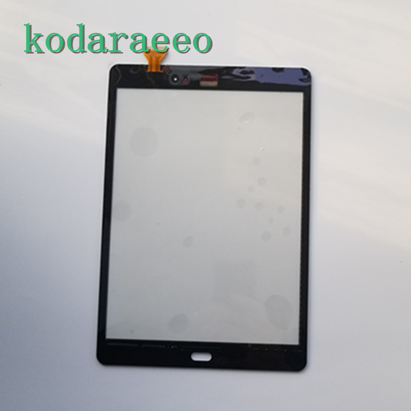 For Samsung Galaxy Tab A 9.7 T550 SM-T550 T551 T555 Touch Screen Glass Digitizer Replacement parts with tap